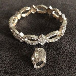 Bracelet & crown pin
